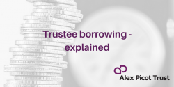 Trustee borrowing rules explained